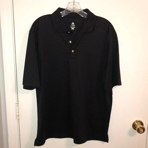 Men's Bollé Golf Black Polo Shirt Medium
